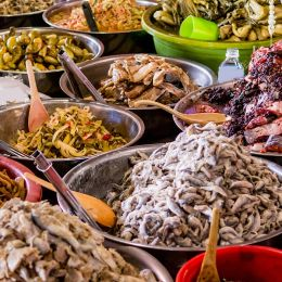 Khmer transitional food, the favorite food in Cambodia
