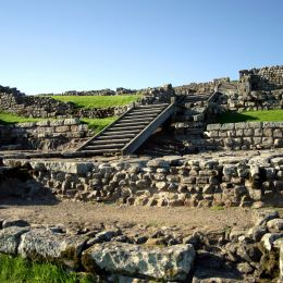 Enchanting Travels UK & Ireland Tours Hadrian's Wall Ruins in Northern England on the border of Scotland
