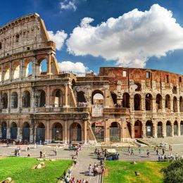 Colosseum in Rome, Italy - history of Italy