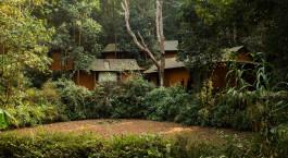 Garten im Resort Dwarika's Resort in Dhulikhel, Nepal