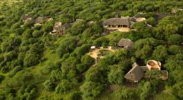 Overview von Ol Donyo Lodge