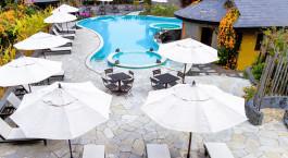 Pool at Temple Tree Resort & Spa in Pokhara, Nepal