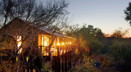 Exterior view at hotel Kapama Buffalo Camp in Kruger, South Africa