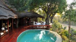 Pool im Imbali Safari Lodge in Kruger, Südafrika
