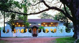 Enchanting Travels- Südindien Reisen - Cochin - Malabar House - Außenansicht