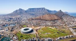 Kapstadt von oben gesehen