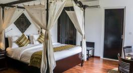 Bedroom at La Rose Boutique Hotel & Spa Phnom Penh, Cambodia