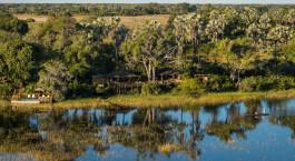 Enchanting Travels Africa Tours Botswana Okavango Delta Pelo Camp view