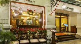 Entrance of Hanoi La Siesta Hotel & Spa in Hanoi, Vietnam
