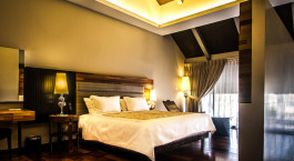 Room at hotel The Ranee Boutique Suite, Kuching, Malaysia