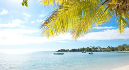 Beach at Merville Beach Hotel, Mauritius