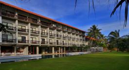 Exterior view of Temple Tree Resort & Spa in Bentota, Sri Lanka