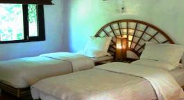 Twin room at Safari Narayani Hotel in Chitwan, Nepal