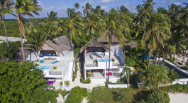 Exterior view of Upendo Zanzibar Hotel in Zanzibar, Tanzania