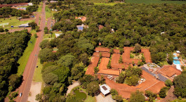 Bird's eye view of San Martin Foz do Iguacu Hotel in Foz do Iguacu, Brazil