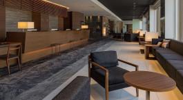 Lobby im JR Kyushu Hotel in Kagoshima, Japan