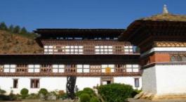 Gantey Palace Bhutan Paro Exterior
