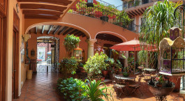 Enchanting Travels Mexico Tours Oaxaca Hotels Parador San Miguel Oaxaca Courtyard