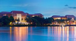 Enchanting Travels - Bangkok Tours - Anantara Bangkok Riverside Resort - exterior view