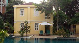 Battambang, La villa - Pool