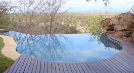 Pool im Elsas Kopje in Meru National Park, Kenia