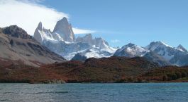 Exterior view at Refugio Lago Condor El Chaltén, Argentina