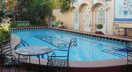 Pool at Jas Vilas in Jaipur, North India