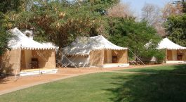 Tents at Sher Bagh, Ranthambore, North India