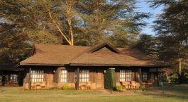 Exterior view at Ol Tukai Lodge in Amboseli, Kenya