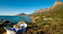 Beste Reisezeit Kapstadt: Picknick mit Blick auf die Metropole