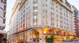 Außenansicht des Alvear Palace Hotel in Argentinien