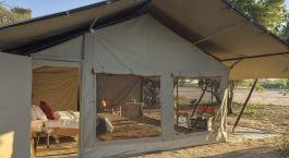 Enchanting Travels Tanzania Tours Ruaha Hotels Kwihala Camp Kwihala-exterior-veiw-of-tent