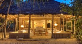Exterior view at hotel Mnemba Island Lodge, Zanzibar, Tanzania