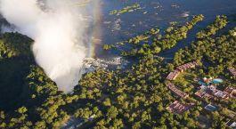 Enchanting Travels - Zambia Tours - Anantara Avani Victoria Falls Resort - view from above