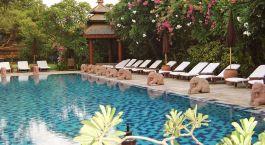 Enchanting Travels - Asien Reisen - Myanmar-Bagan-Tharabar Gate - Pool