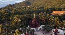 Enchanting Travels - Asien Reisen - Myanmar - Mandalay Hill Resort - Außenansicht