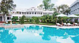 Pool area at Azerai - La Residence Hue Hotel in Huè, Vietnam