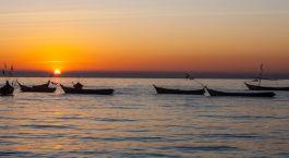 Myanmar_Sunset_At_River Enchanting Travels Myanmar Tours Sittwe