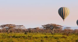 Ballon Safari in Tarangire