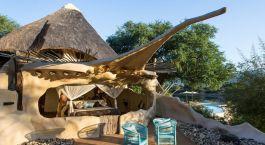 Room in Chongwe River Camp in Lower Zambezi, Zambia