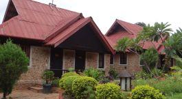 Exterior view of Inle Inn in Pindaya, Myanmar, Asia