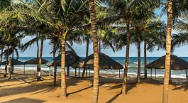 Enchanting Travels - South India Tours -Mamallapuram- Ideal Beach Resort- Beach view