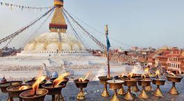 Das Kathmandu Tal ist die wichtigste aller Nepal Sehenswürdigkeiten - hier warten gleich sieben UNESCO Weltkulturerbe