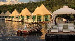 Enchanting Travels - Asien Reisen - Cambodia - 4 Rivers Floating Lodge - Außenansicht