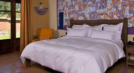Room at Sol y Luna in Sacred Valley, Peru