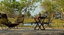 sit out at Kana Kara Camp in Okavango Delta, Botswana