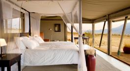 Room at Wolwedans Dunes Lodge in Namib Rand Reserve, Namibia