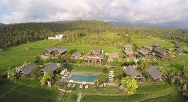 Overview of Sanak Retreat, Munduk, Indonesia