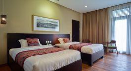 Bedroom at Jiwa Jawa Resort Bromo Hotel in Indonesia, Mount Bromo