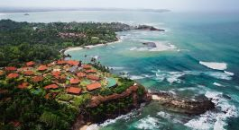Overview of hotel Cape Weligama in Mirissa/Weligama, Sri Lanka